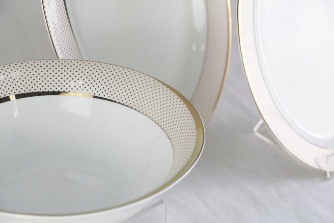 Набор посуды Bianko из фарфора