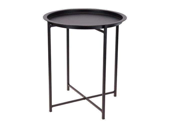 Кофейный стол Matt Black черного цвета