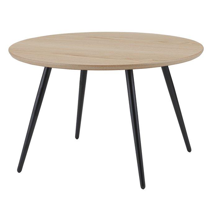 Набор из трех кофейных столиков Sodano с круглыми столешницами