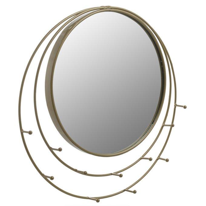 Настенное зеркало с вешалкой