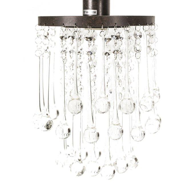 Подвесной светильник Quinn с хрустальными подвесками