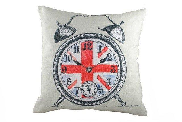 Подушка с британским флагом Alarm