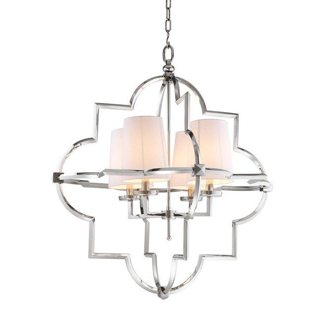 Подвесной светильник Eichholtz Lantern с абажурами белого цвета