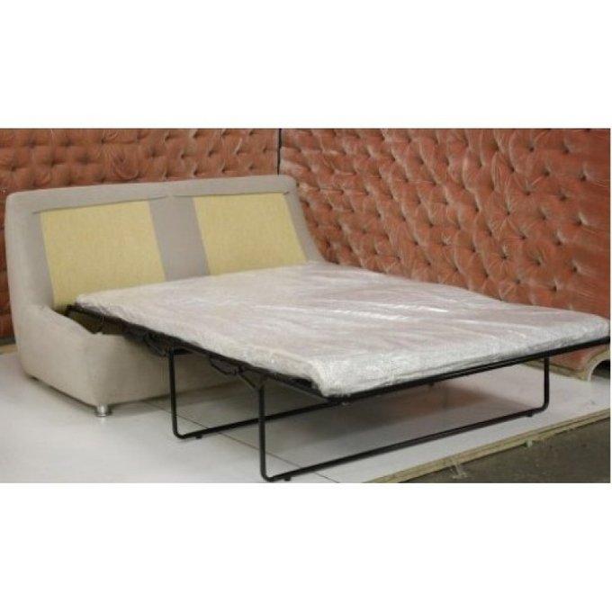 Диван-кровать Дипломат со светлой обивкой