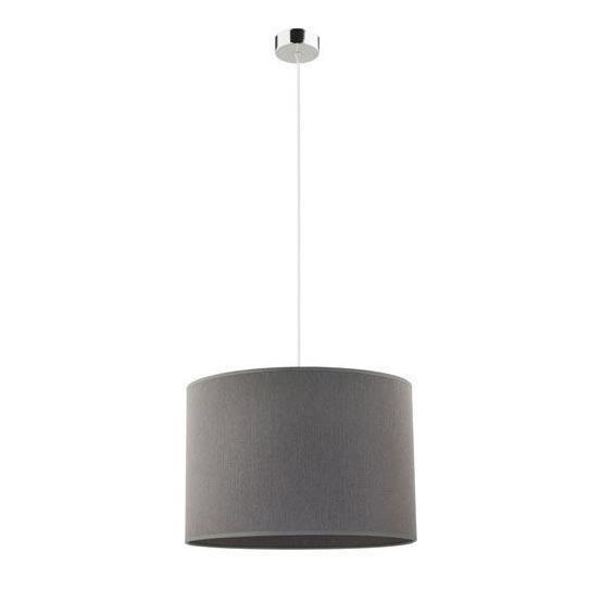 Подвесной светильник Hotel с серым абажуром