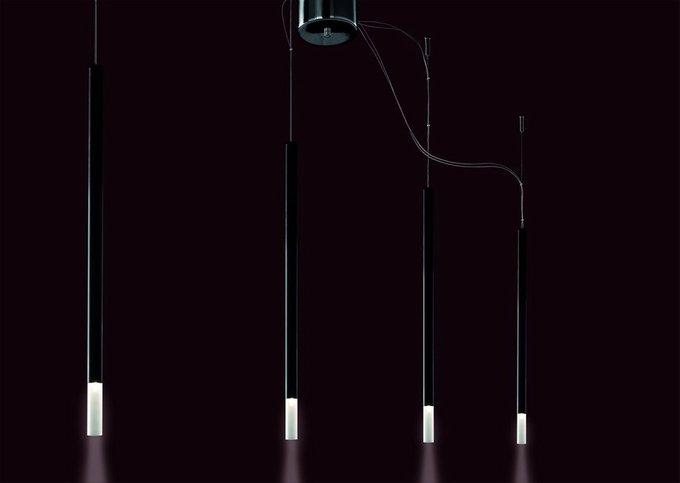 """Подвесной светильник Facon de Venise """"CLAUDE 70 NERO"""" с плафонами из стекла"""