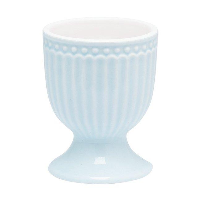 Подставка для яйца Alice pale blue из высококачественного фарфора