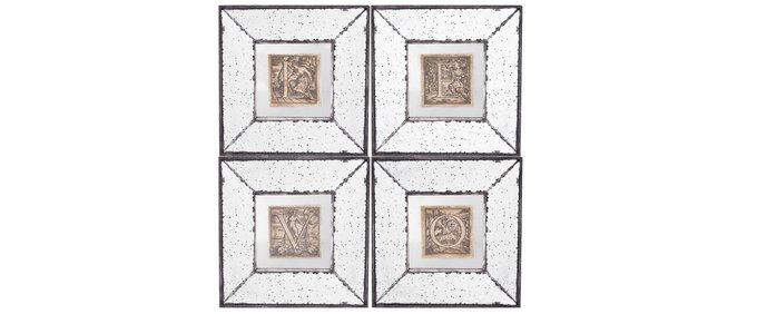 Панно модульное зеркальное
