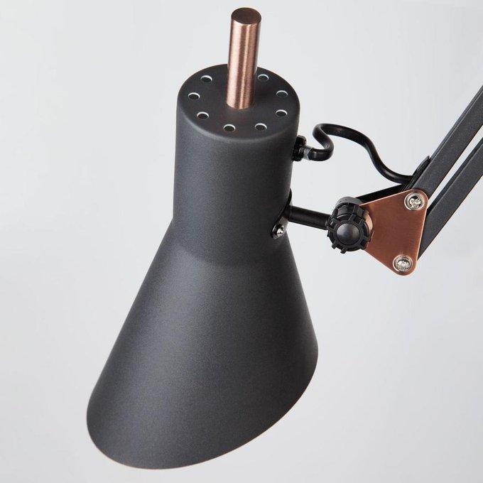 Торшер Norden черного цвета
