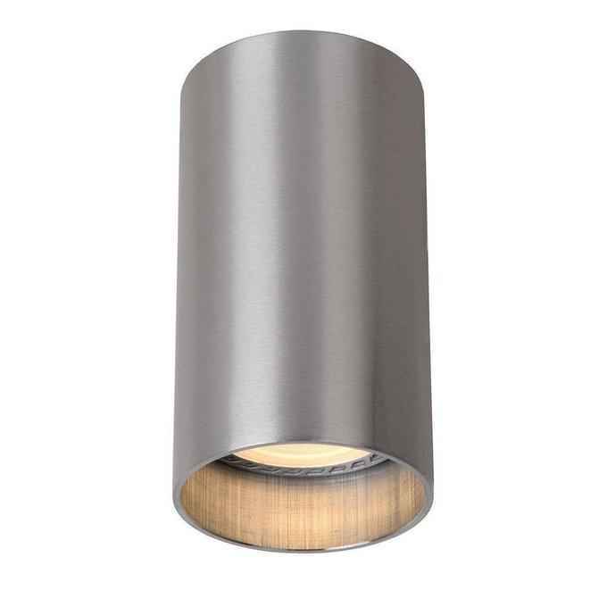 Потолочный светодиодный светильник Delto серого цвета