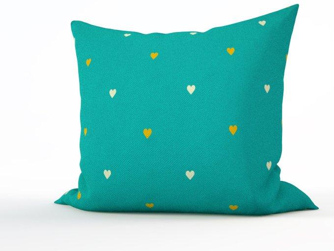 Декоративная подушка: Карибская зелень