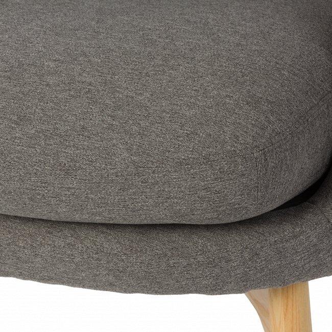 Кресло Hush серого цвета