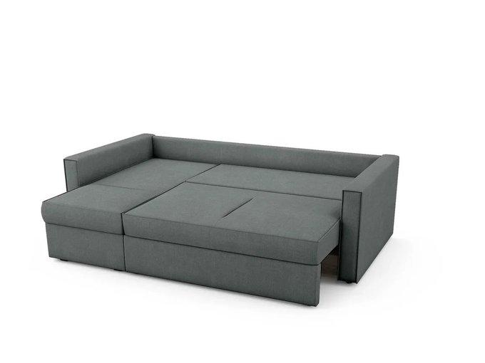 Угловой Диван-кровать Macao левый темно-серого цвета