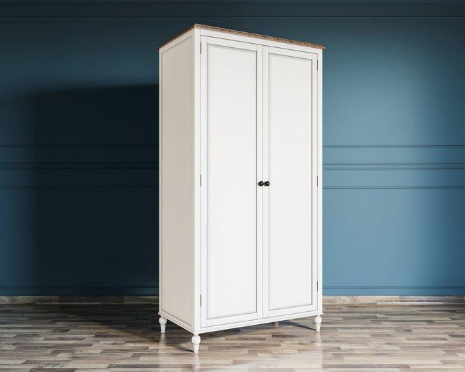 Шкаф двухстворчатый Odri из березы и ясеня