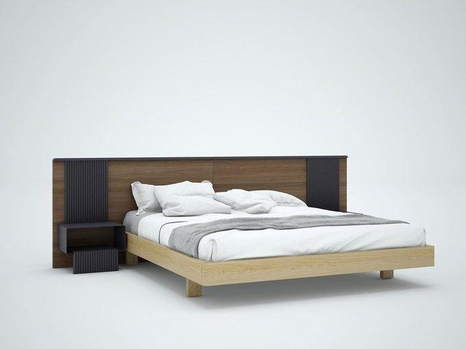 Комплект для спальни Tesla-C dark 180х200