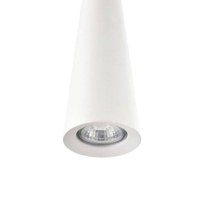 Подвесной светильник Nevill  из металла белого цвета