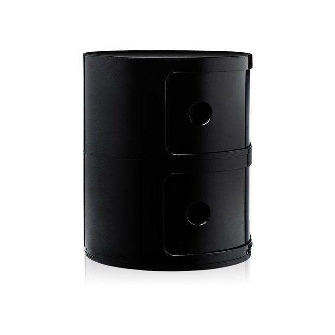 Тумба Componibili Black черного цвета
