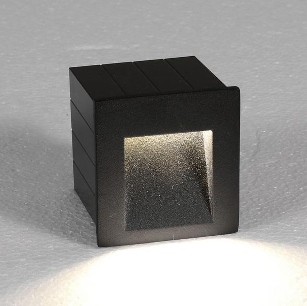 Уличный светодиодный светильник Step темно-серого цвета