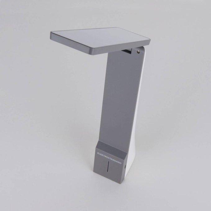 Настольная лампа Desk серого цвета