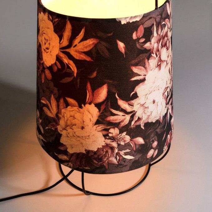 Настольная лампа Beattie с цветным абажуром