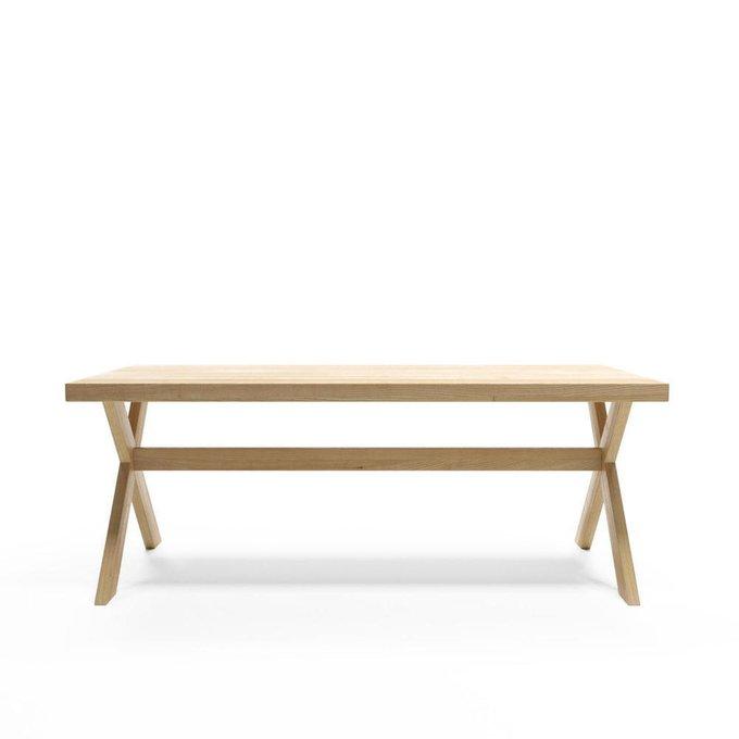 Обеденный стол Bergen выбеленный дуб