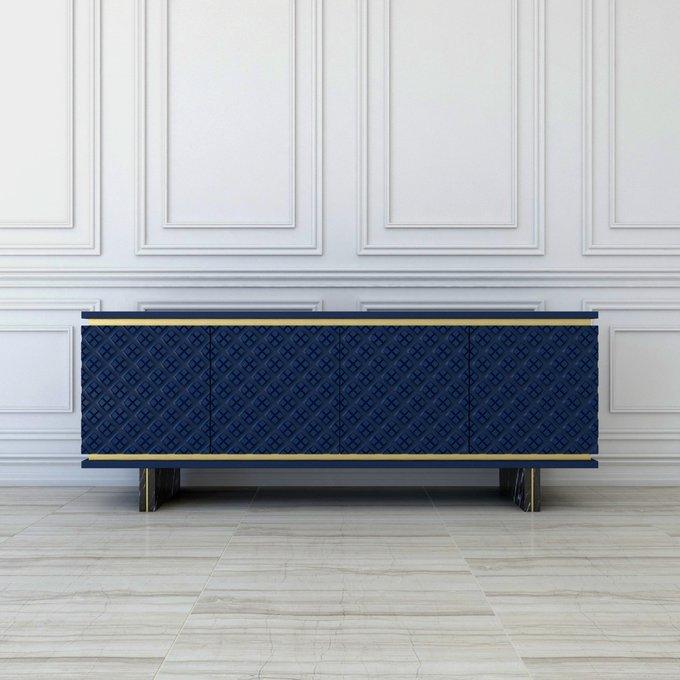 Комод Erba M синего цвета