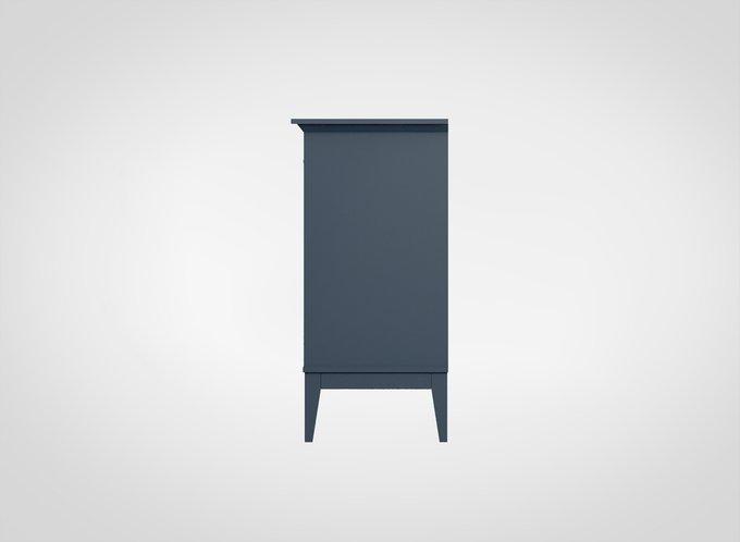 Буфет Manhattan сине-серого цвета