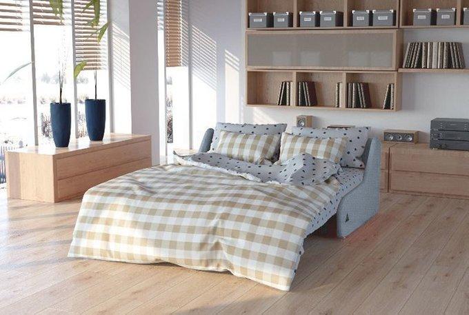 Диван-кровать Шарлот S серого цвета
