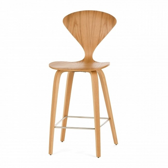 Барный стул Cherner цвета натурального дуба
