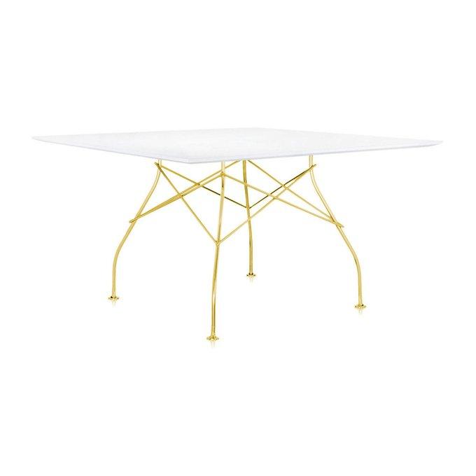 Обеденный стол Glossy с белой столешницей