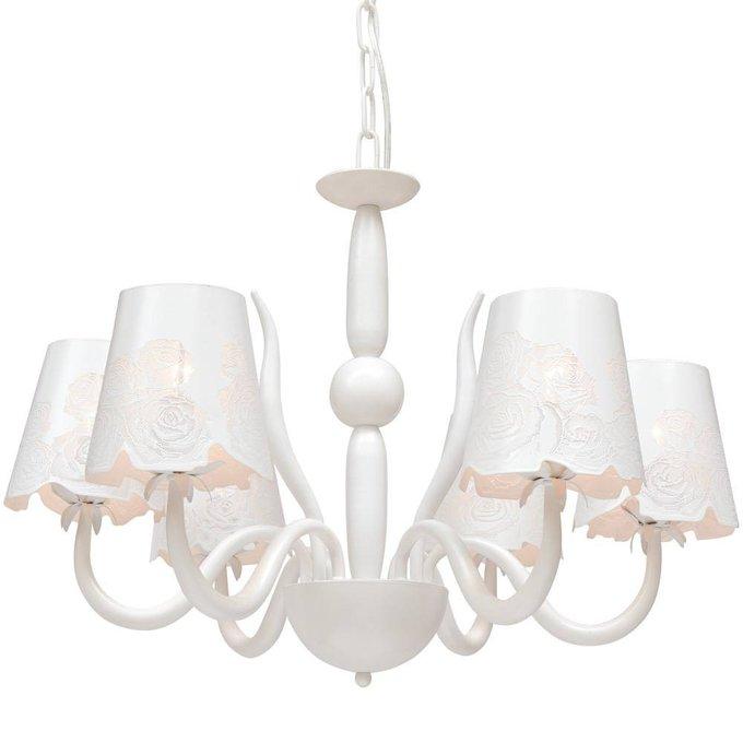 Подвесная люстра ARTE LAMP Attore с белыми абажурами