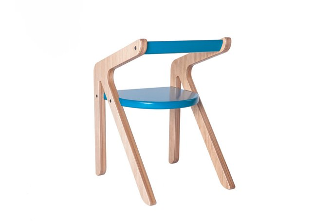 Детский стул Malevich фиолетовый 1.5-5 лет