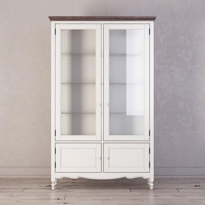 Сервант Leblanc белого цвета