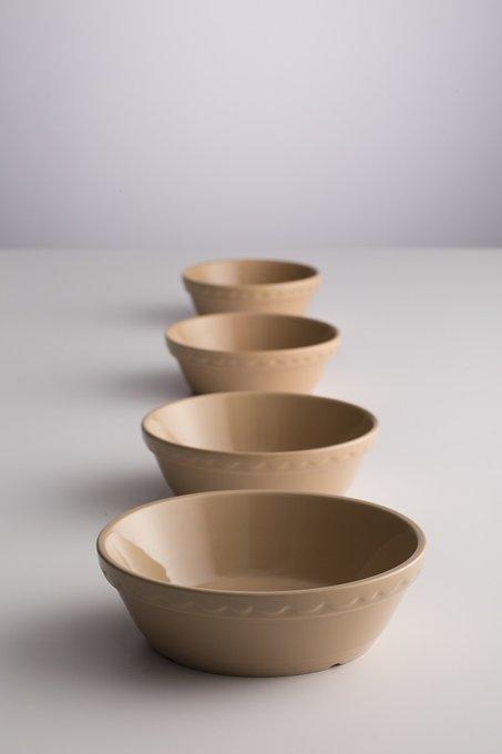 Миска для выпечки Cane овальная коричневого цвета