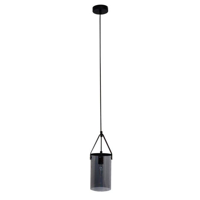 Подвесной светильник Тетро с плафоном из стекла