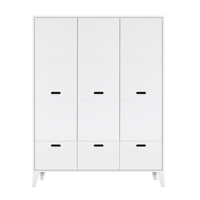 Шкаф Nikki White белого цвета