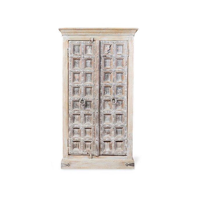 Шкаф Eden двухдверный с резьбой