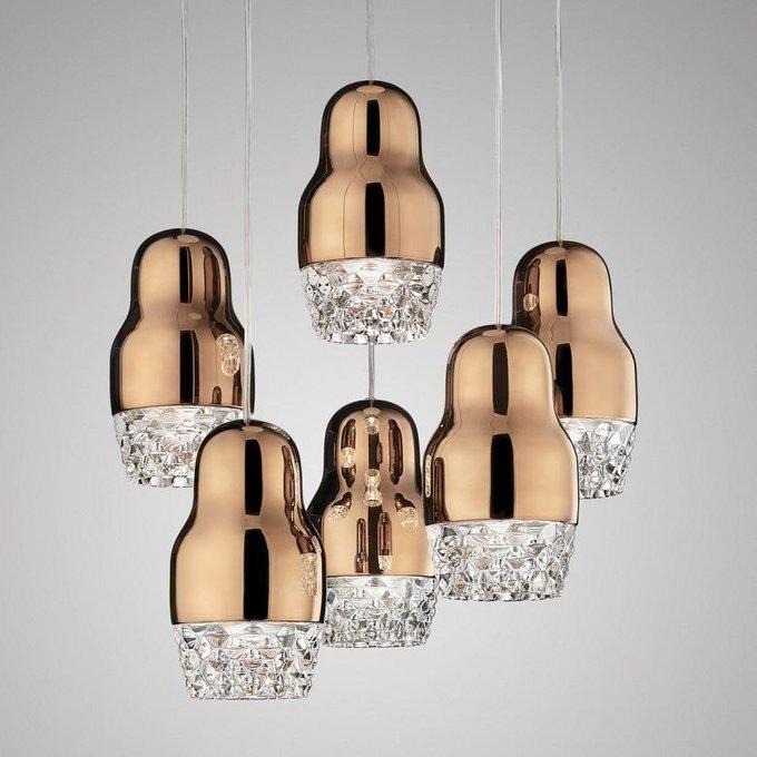 Подвесной светильник Axo Light SP FEDORA 1 Rose Gold