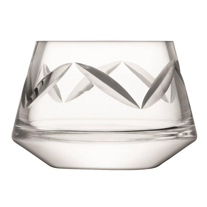 Подсвечник для чайной свечи Frieze из выдувного стекла