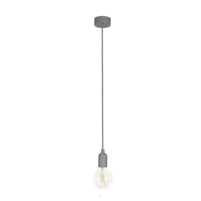 Подвесной светильник Silicone серого цвета