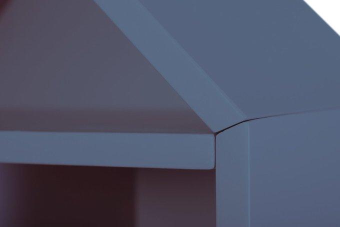 Стеллаж-домик City1 цвета яхтмен