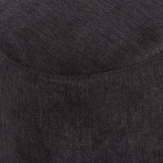 Пуф Koopman Wood черного цвета