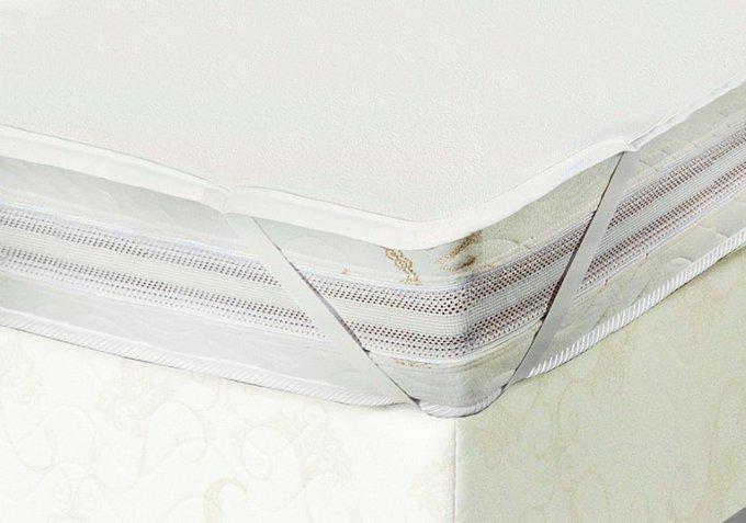 Наматрасник влагонепроницаемый на резинках 160x200 из трикотажа