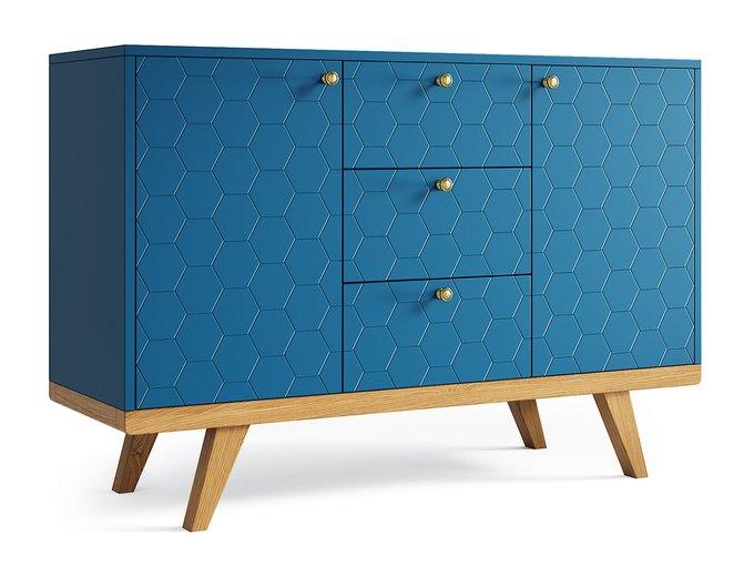 Комод Thimon v2 синего цвета