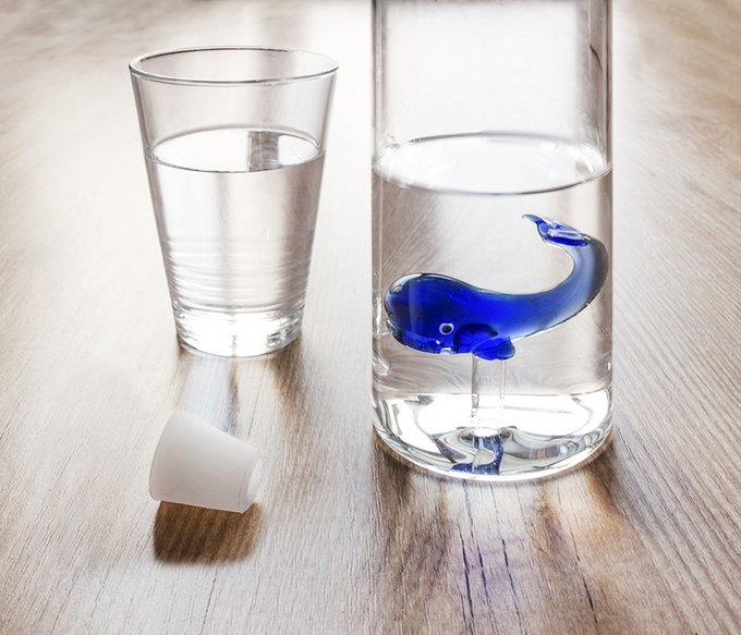 Бутылка Balvi blue whale 1.2 л