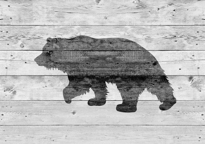 Картина (репродукция, постер): Медведь