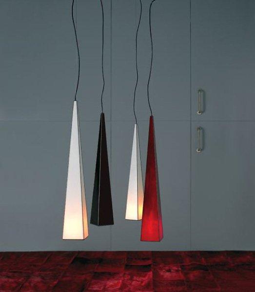 Подвесной светильник Arturo Alvarez KONO с плафонами из стекла белого цвета
