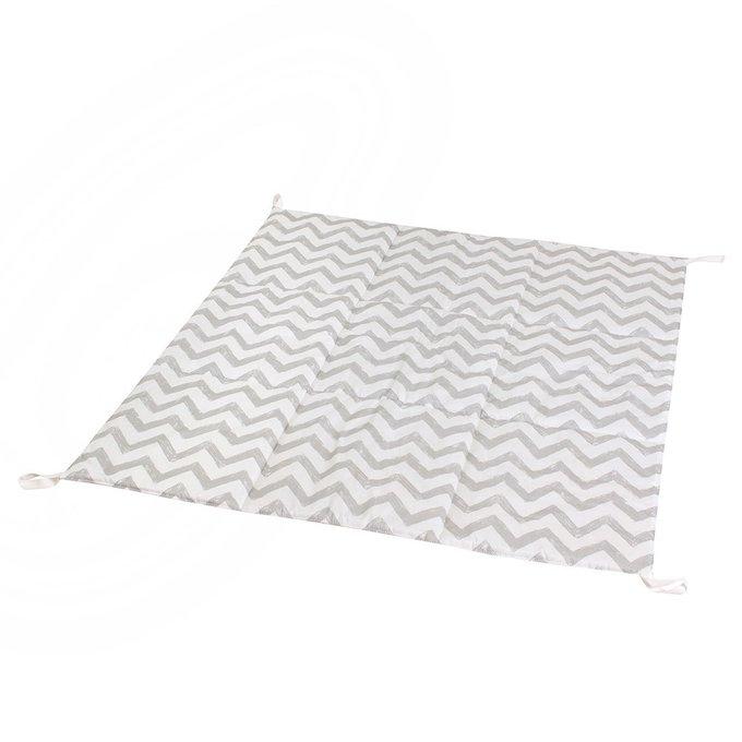 Вигвам для детей Grey Zigzag из 100% хлопка