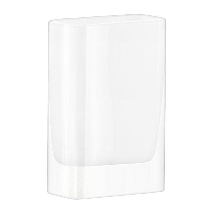 Ваза прямоугольная modular белая