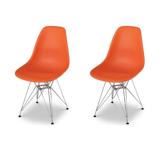 Набор из двух стульев Джексон с пластиковым сидением
